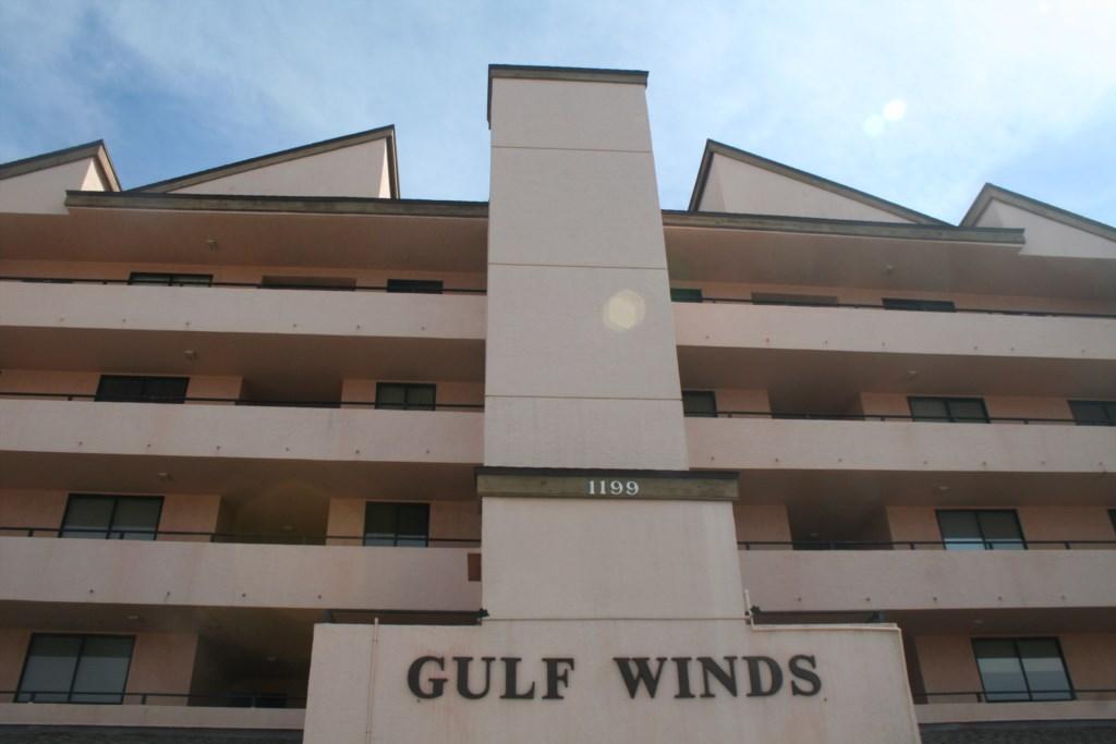 Gulf Winds Complex located on the Gulf