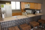 Don't miss out on the views while you're in the fully equipped kitchen