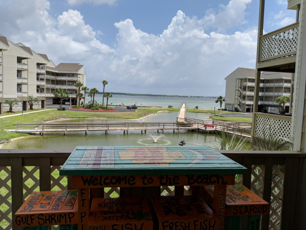 This unit has great views of the Pensacola Bay