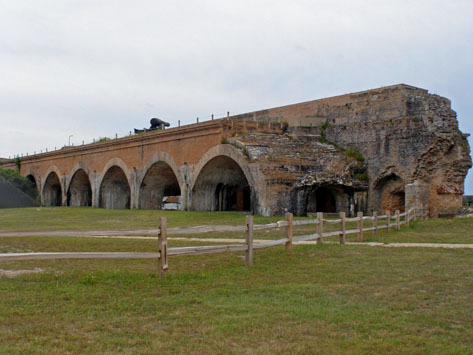 Spend a day exploring the historic Fort Pickens