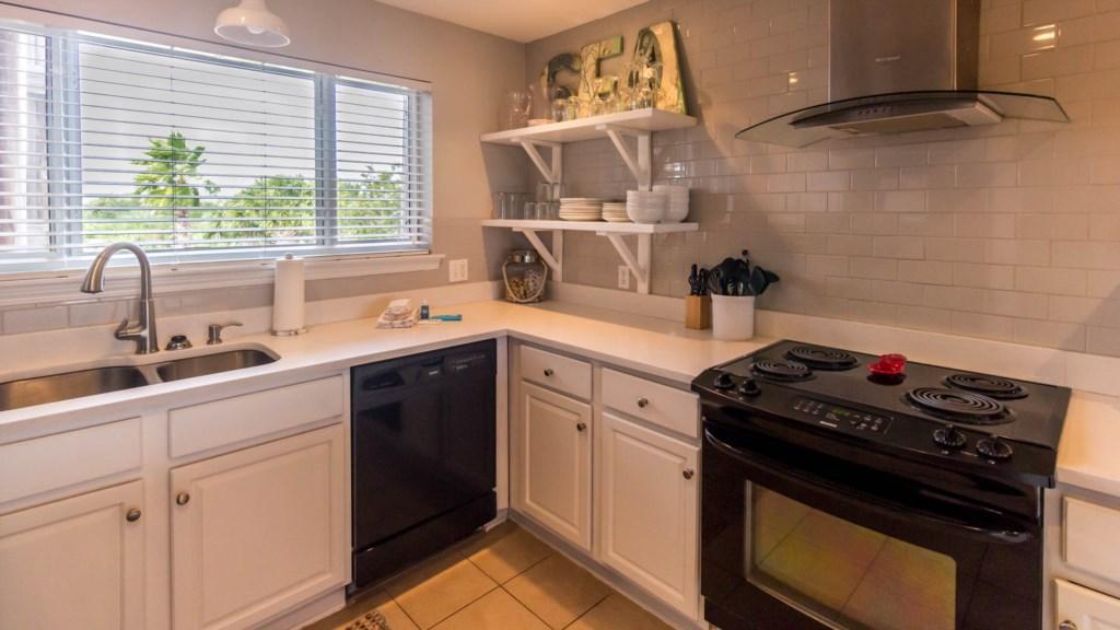 B23 Full Size appliances Dishwasher and Stove