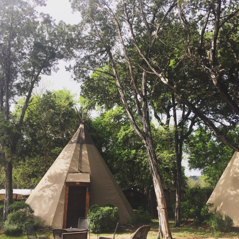 You've discovered the Tipis let the fun begin!