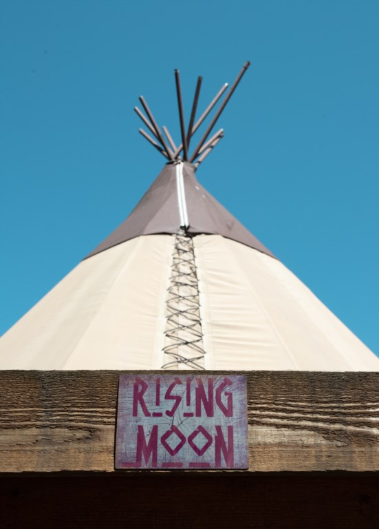 The Tipis are a fun place to be!