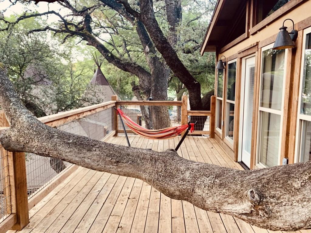 Cozy up in your hammock!