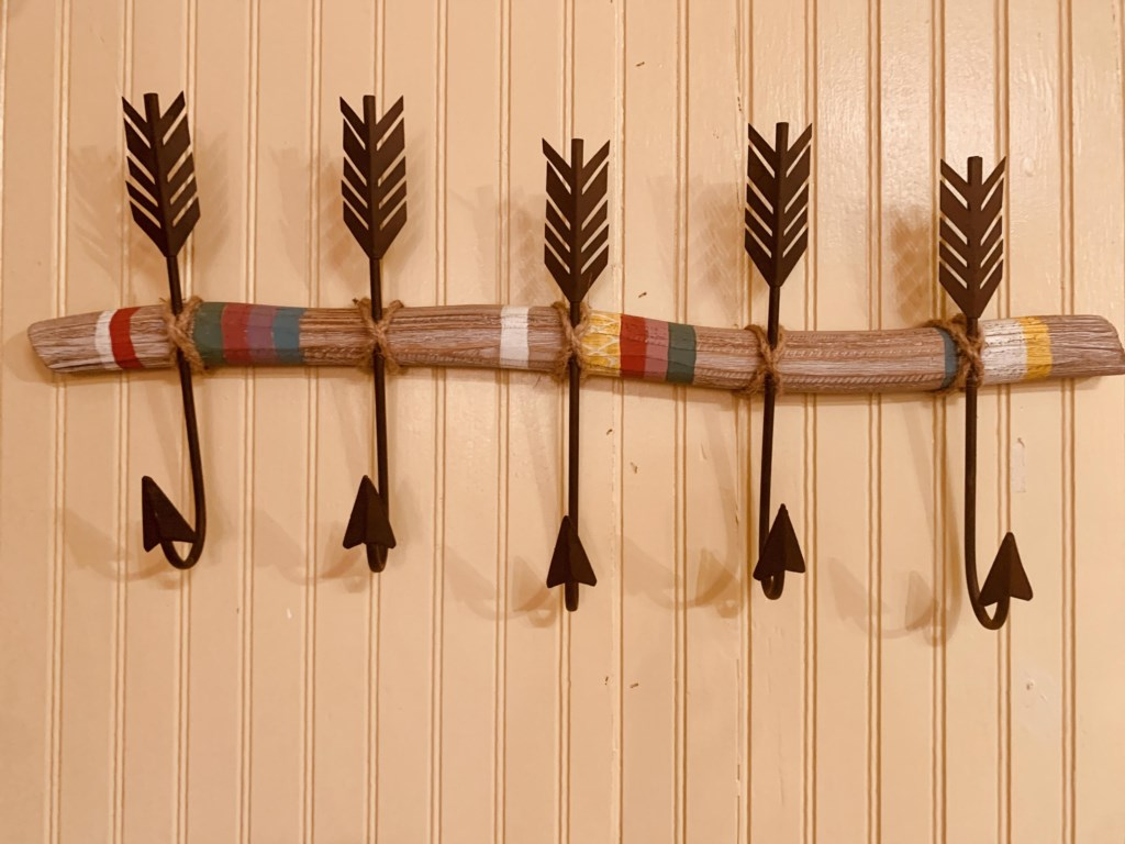 Boho furnishings add a classy touch!