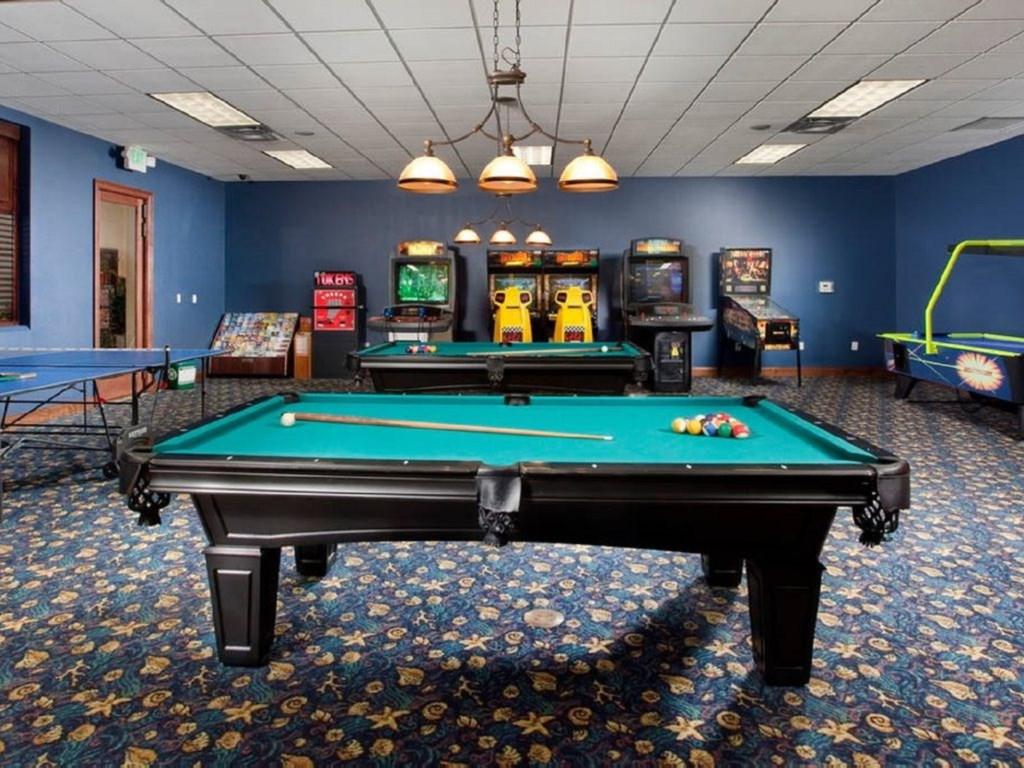 Resort Game room