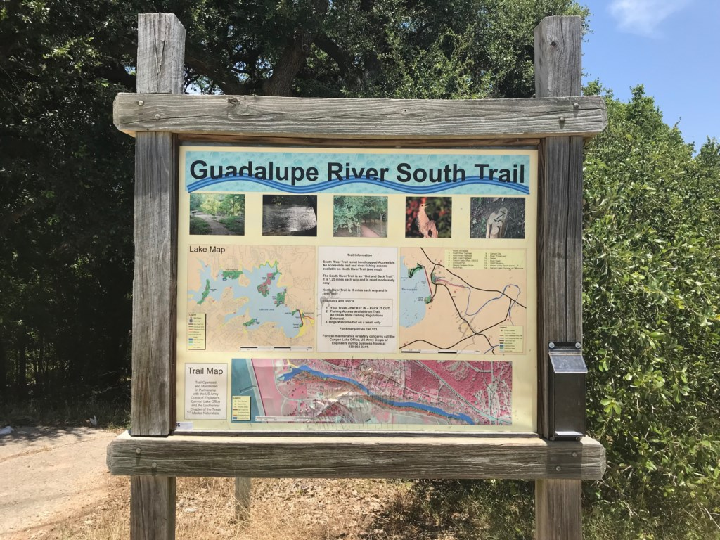 Hiking at the Guadalupe South Trail.