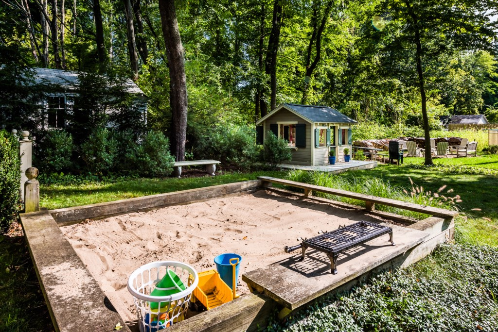 Sandbox for the kids!