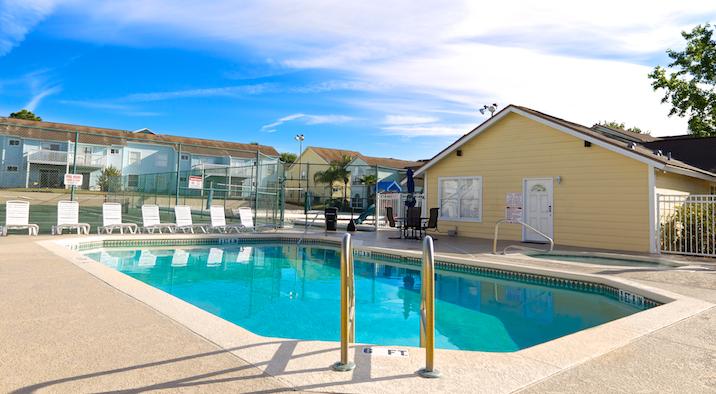 Villas at Island Club Pool Area
