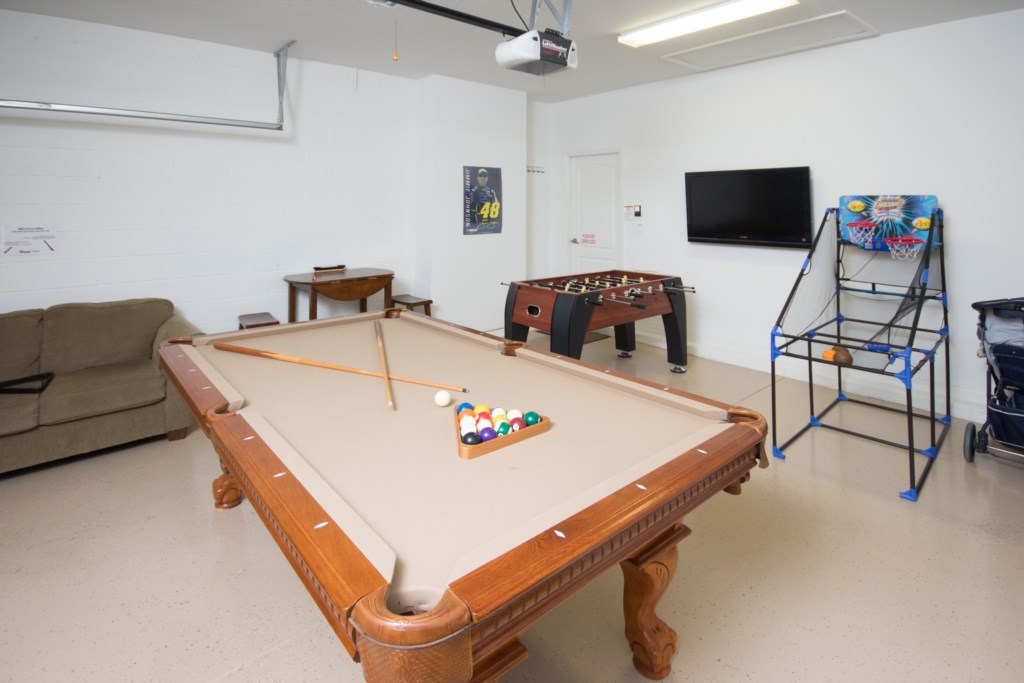Games Room - Pool Table