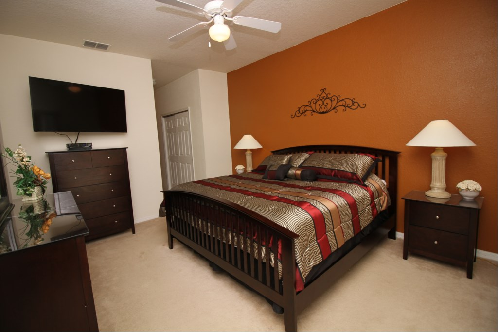 First Floor Master Bedroom with 50