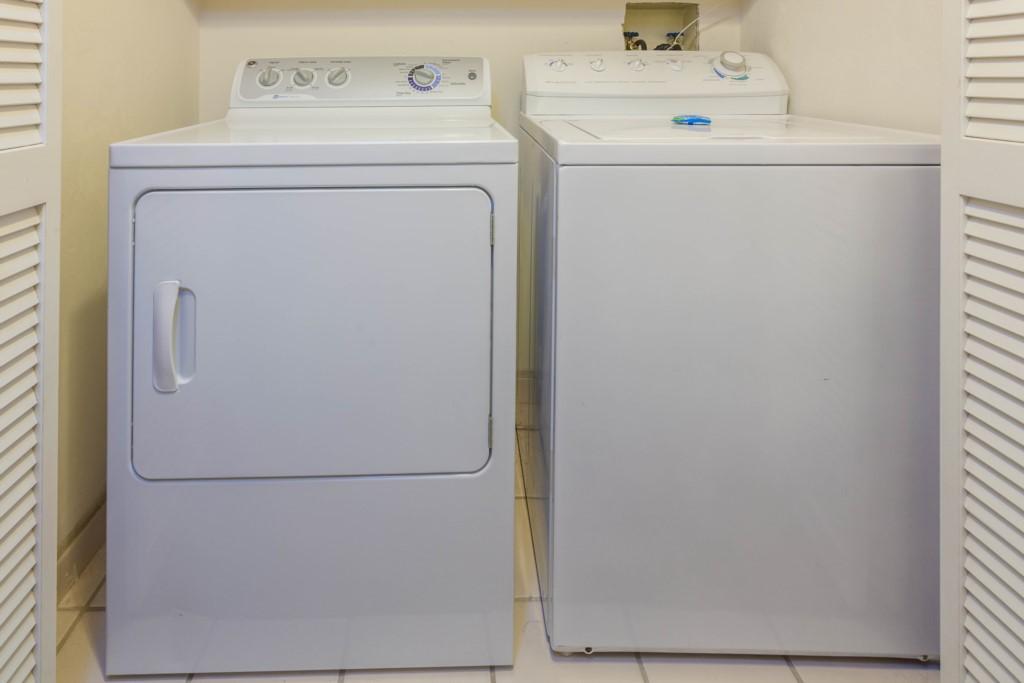 Washer & Dryer