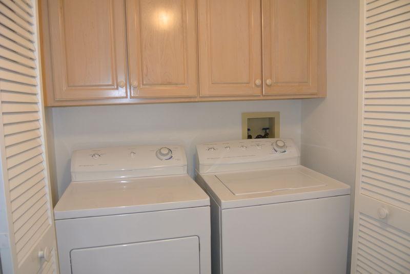 Washer & Dryer in Unit