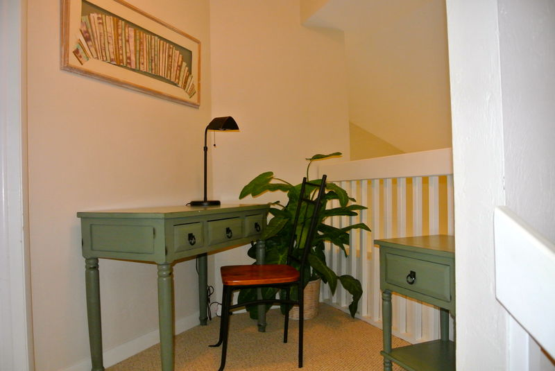 Upstairs Desk Area
