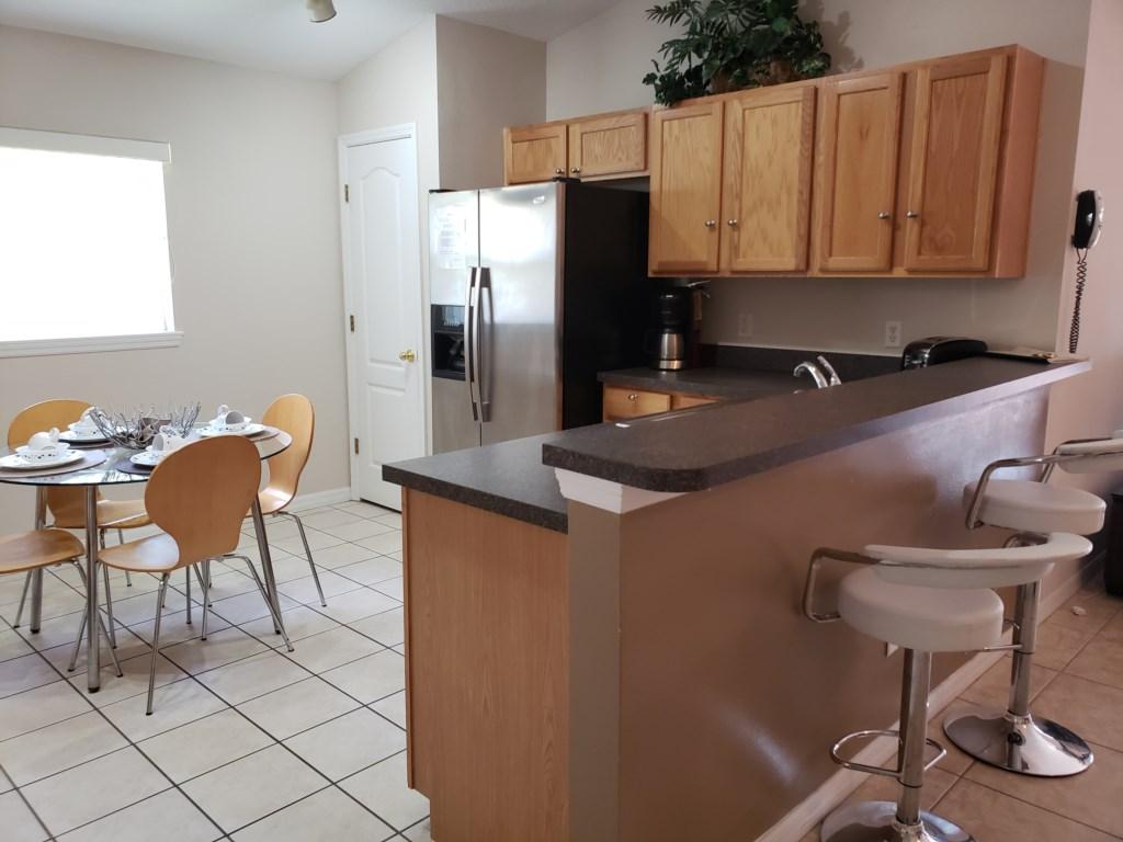 Kitchen Area W/Breakast Area