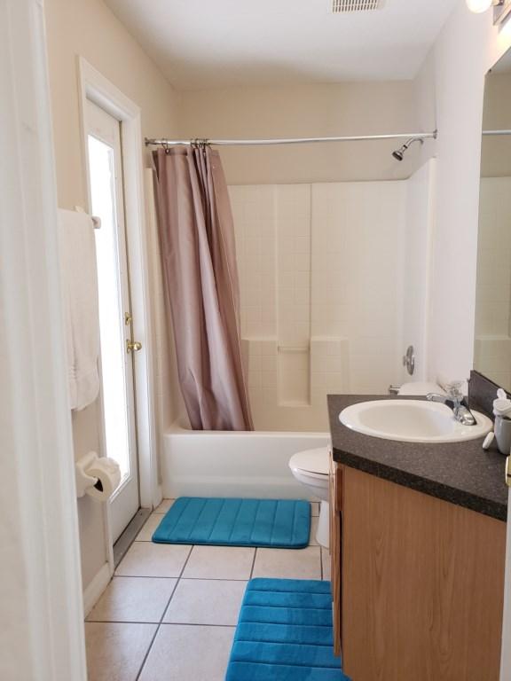 3rd Bathroom - Shower/Tub Combination & Toilet