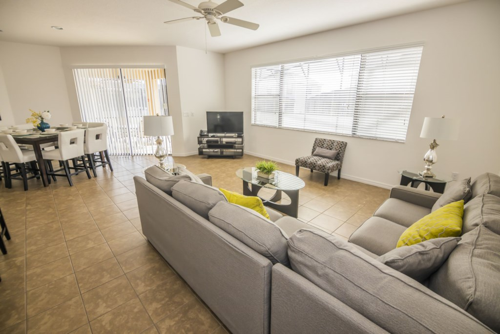 Direct Pool Access from Living Space
