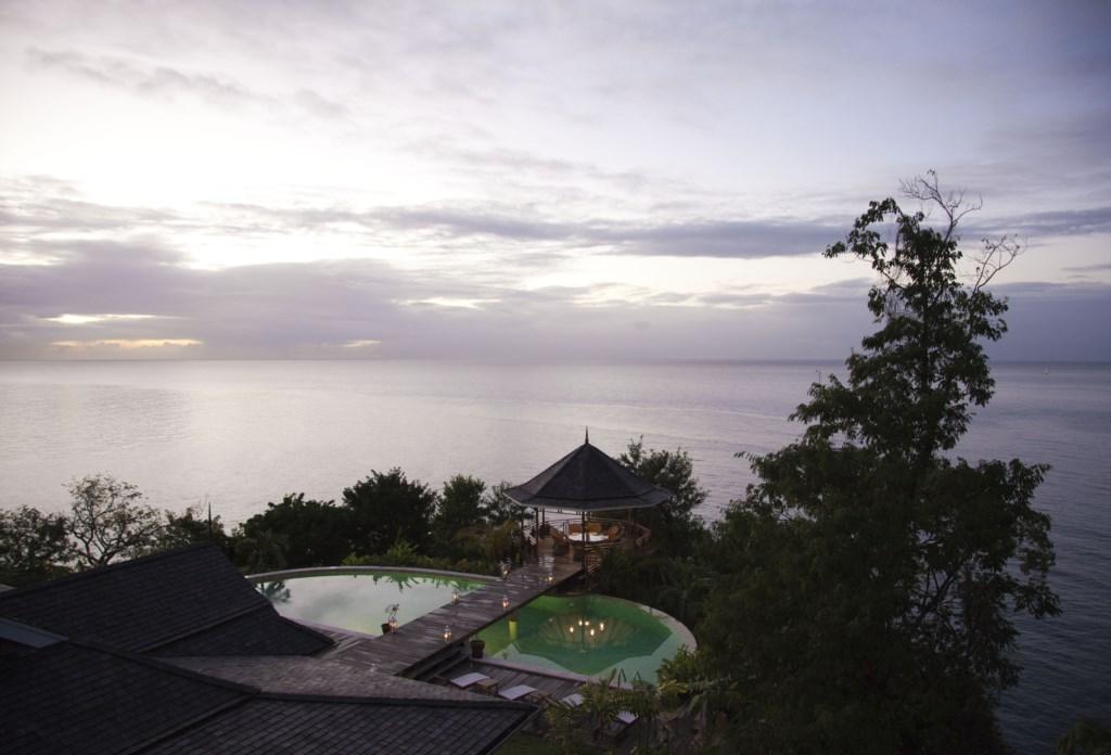 View of pool & gazebo.