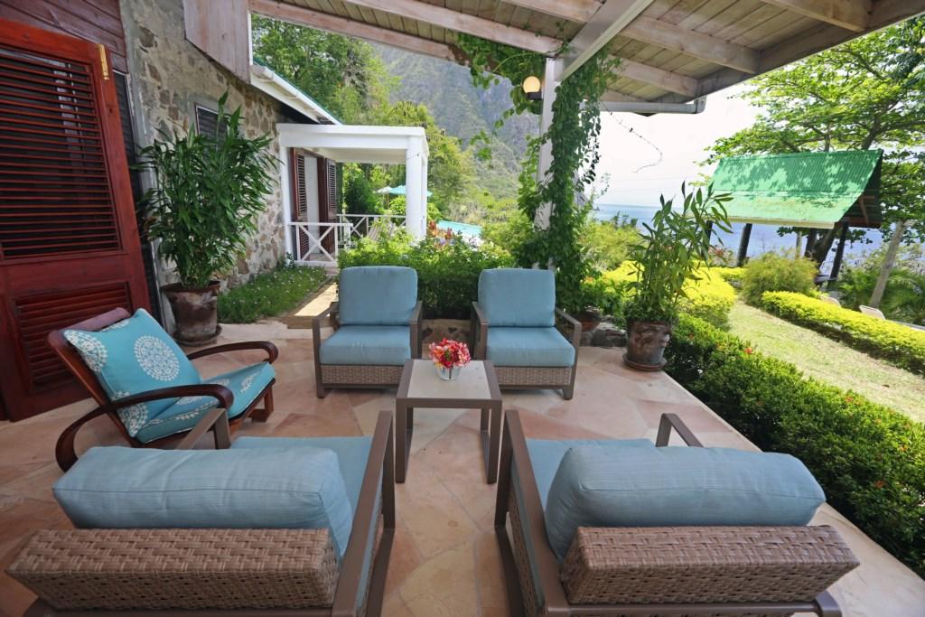 Main patio off living room