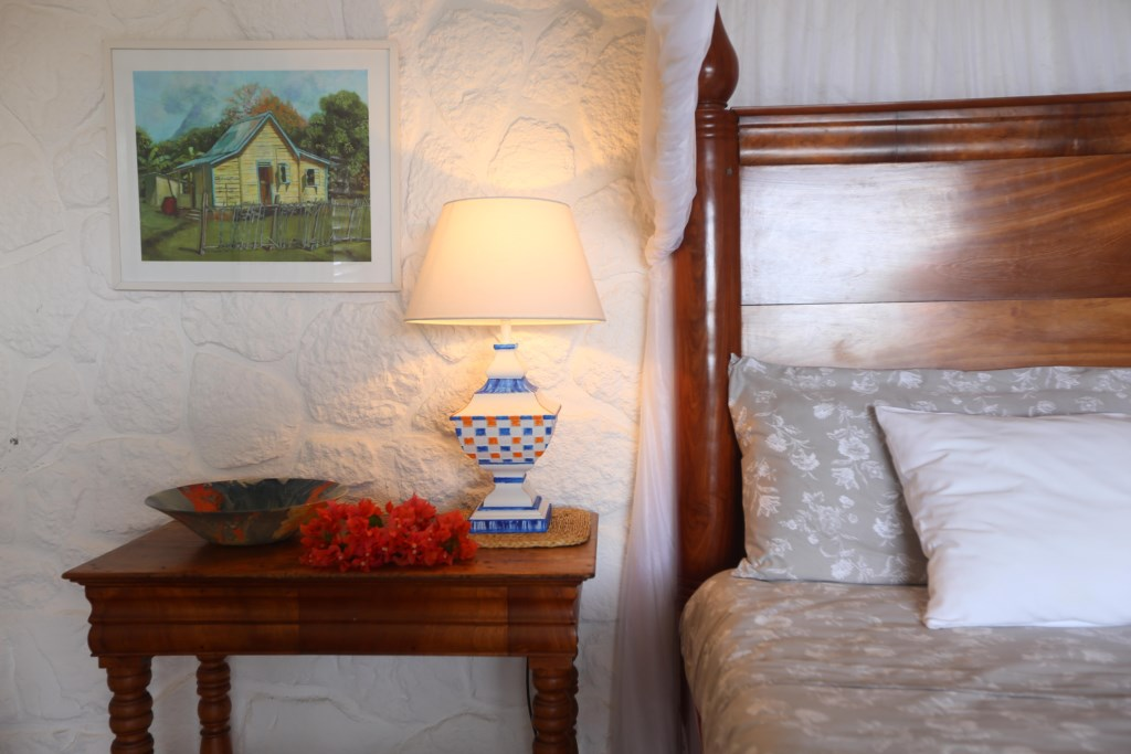 Master bedroom detail.