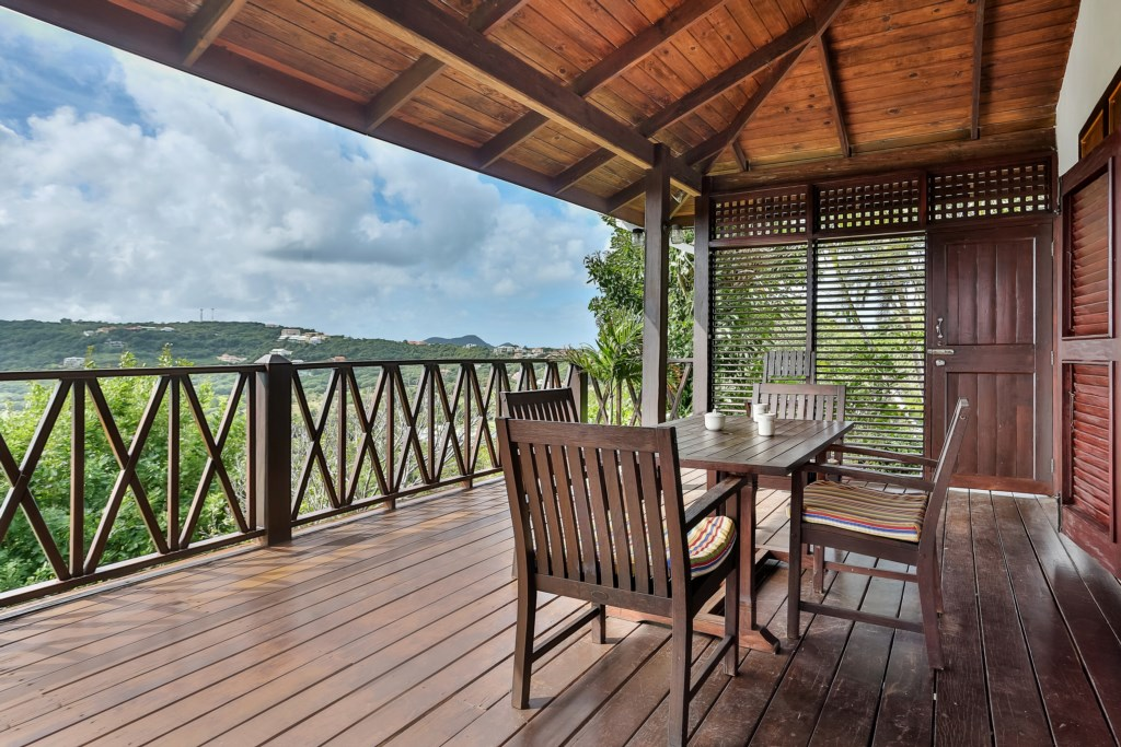 Enjoy ocean breezes on the patio
