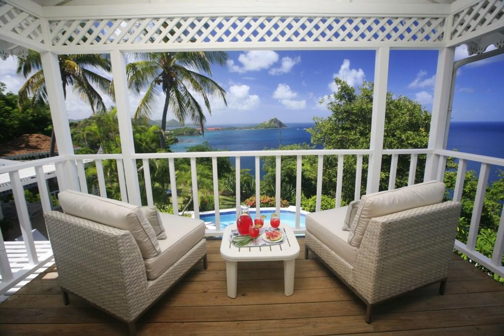 Master bedroom balcony.