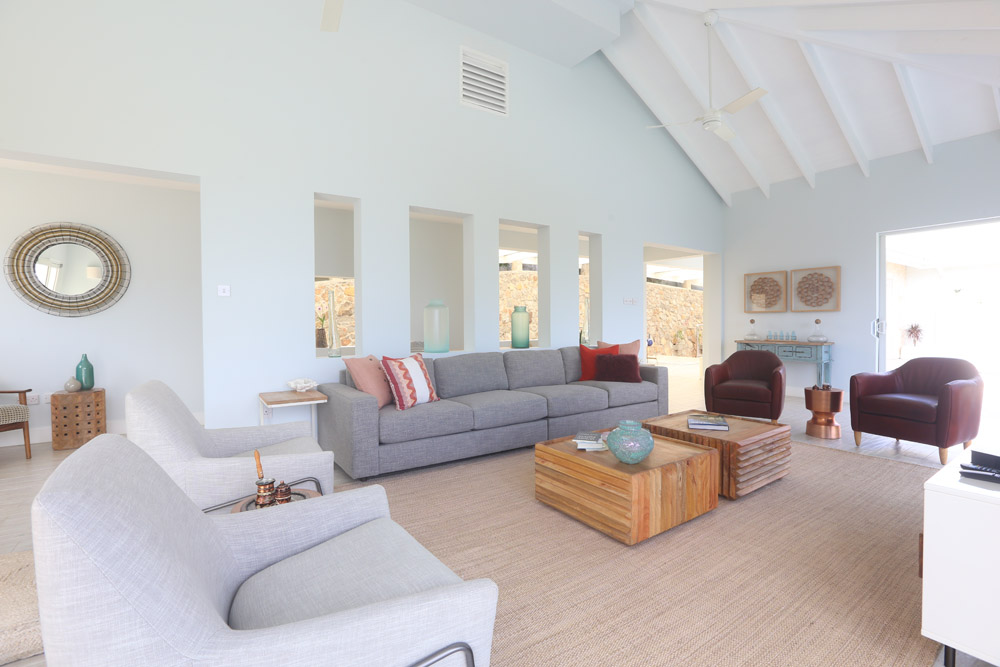 Large spacious living space.