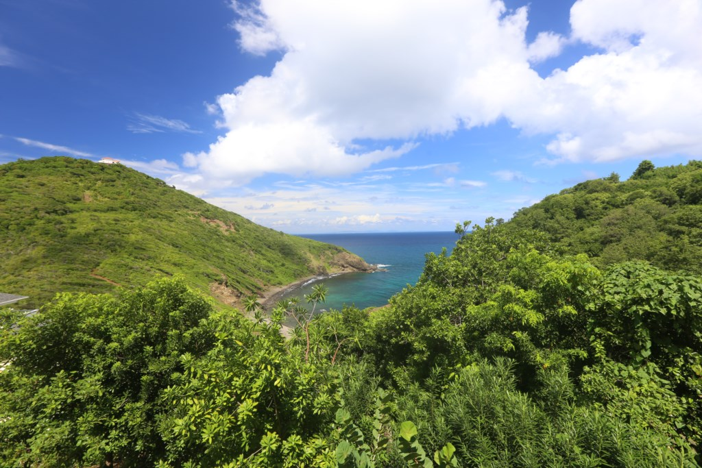 Views from villa.