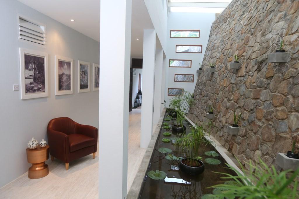 Ground floor, access to bedrooms.