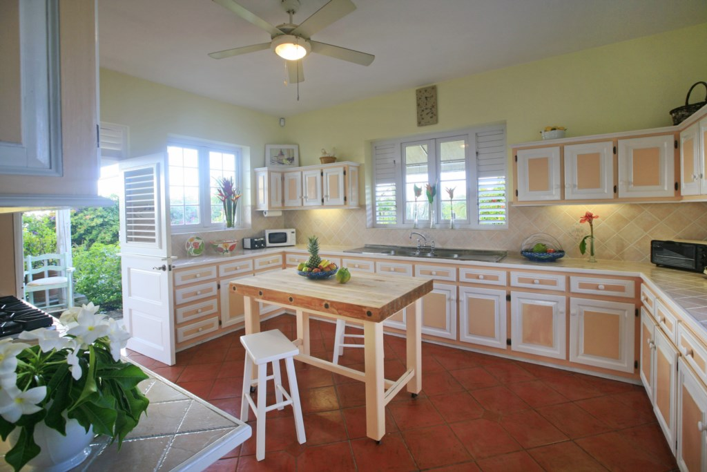 Large Caribbean style kicthen