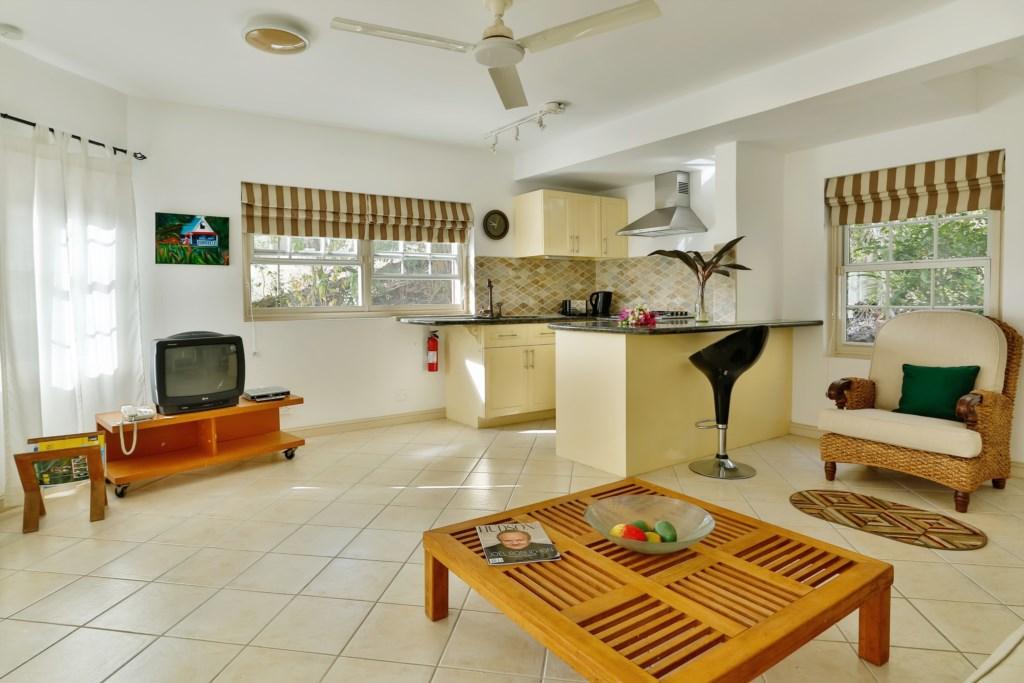 Cottage Kitchen &  Living Room