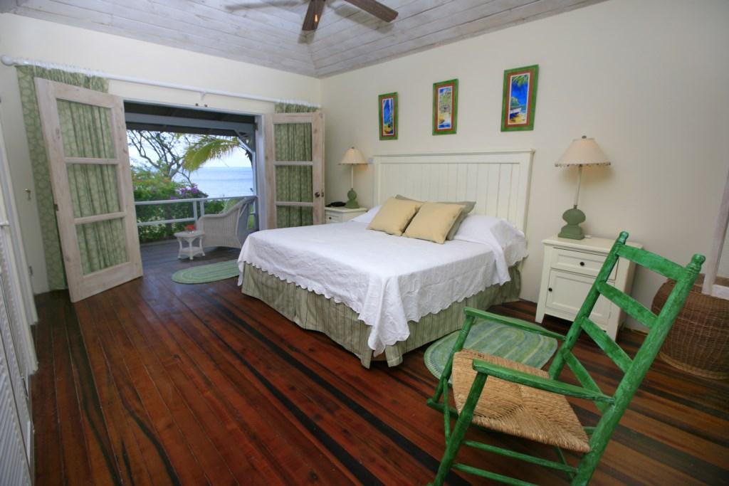 Bedroom one with it's verhanda