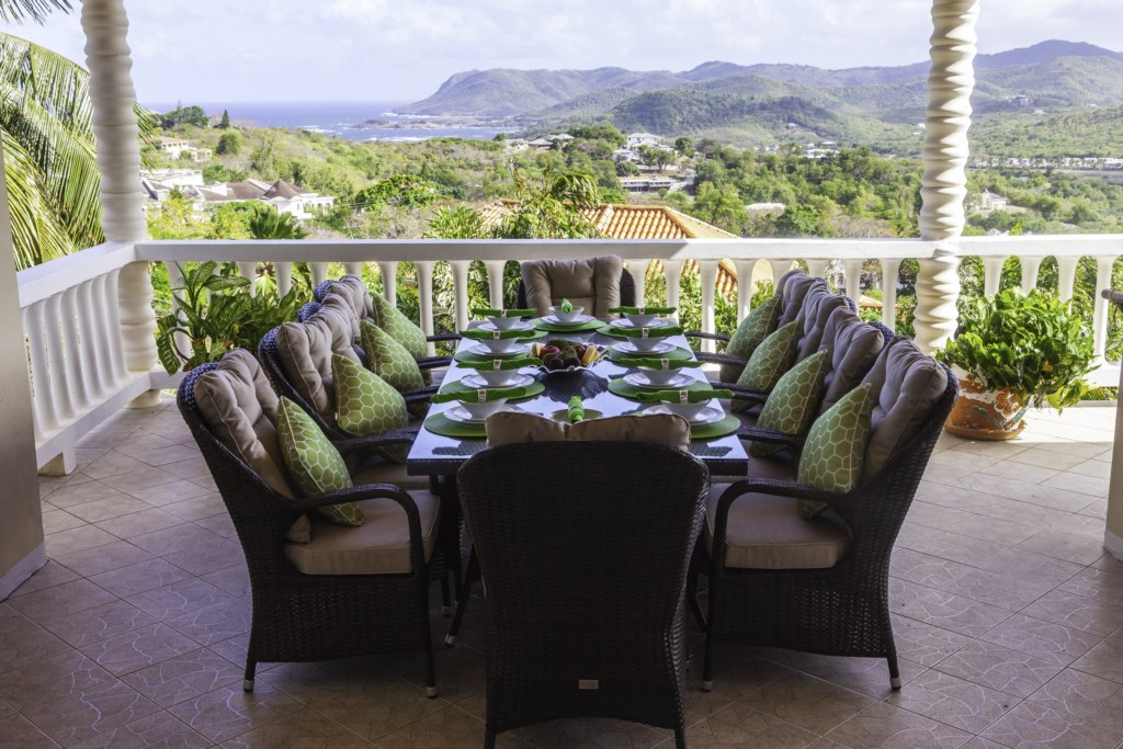 Dining with exceptional views