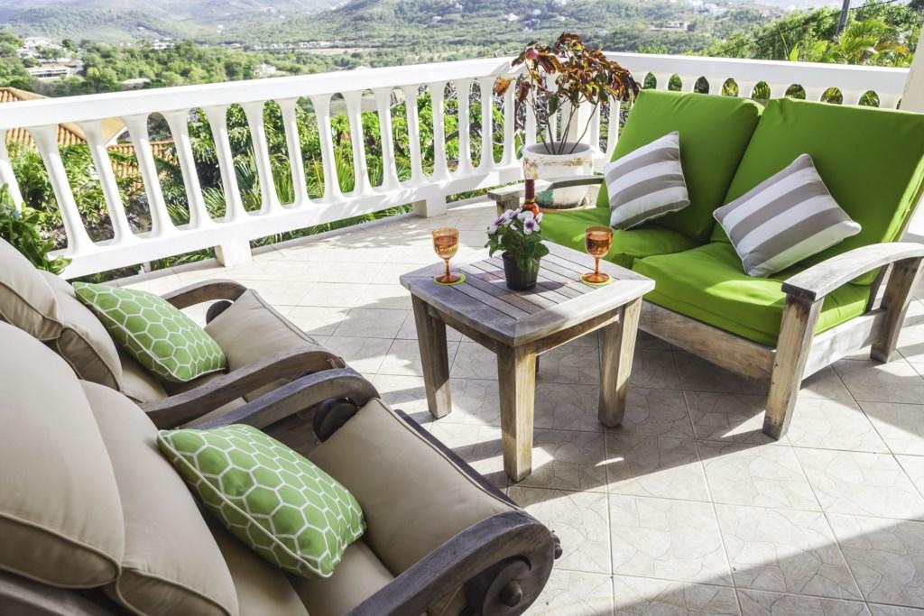 Main balcony lounging