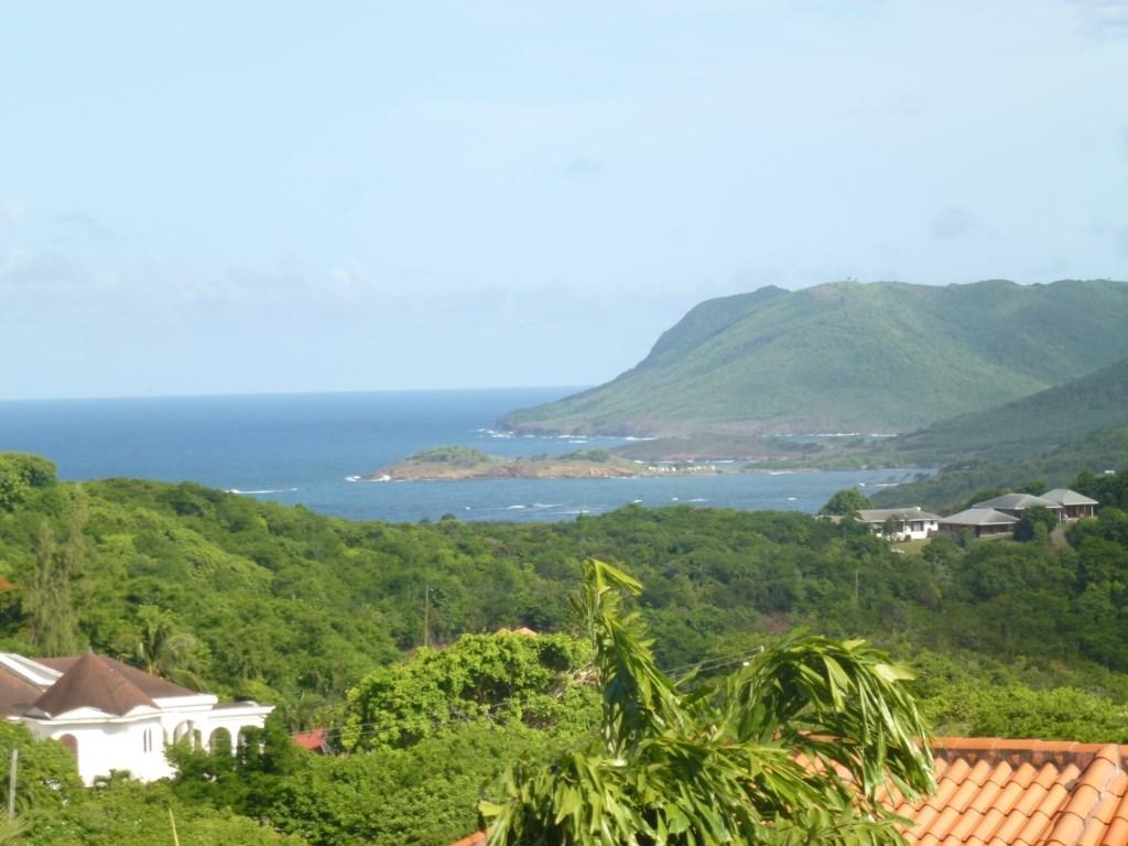 Views from main balcony of the wild East coast