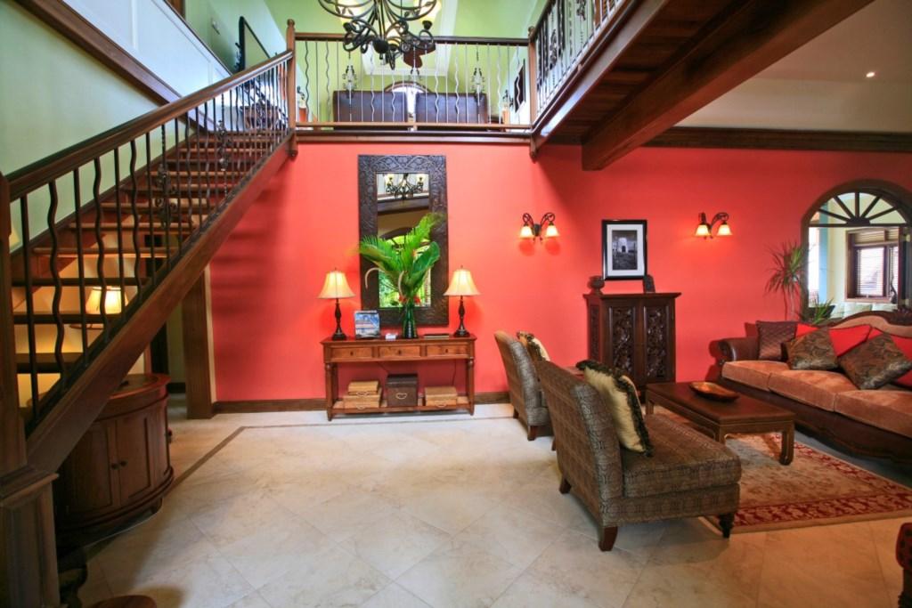 Entrance into Villa