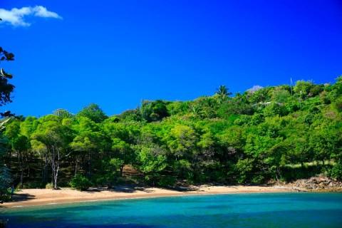 A 5 minute stroll to the quiet Trouya Beach
