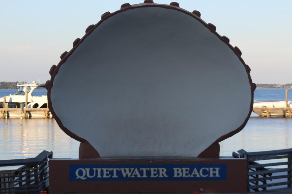 ENJOY A WALK DOWN BY QUIETWATER BEACH