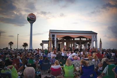 Enjoy Bands on the Beach during the summer