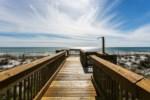 Wooden walkover to beach