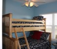 2nd bedroom with bunk