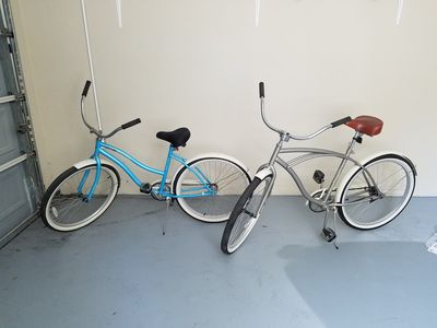 Bicycles provided by owner at Sandcstle Villa