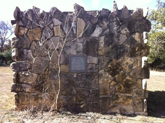 The Price Family Mausoleum at The Leakey Inn