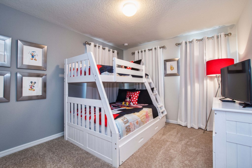 Mickey Themed Room w/Trundle
