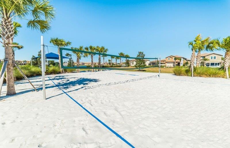 Resort Volleyball Court