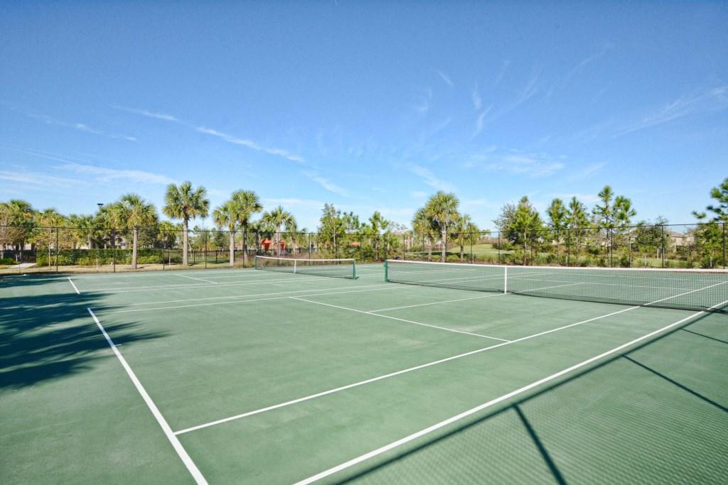 Resort Tennis Courts