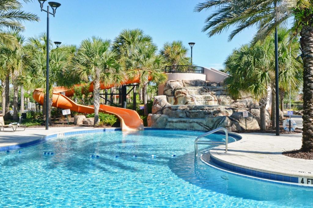 Resort Pool & Slide