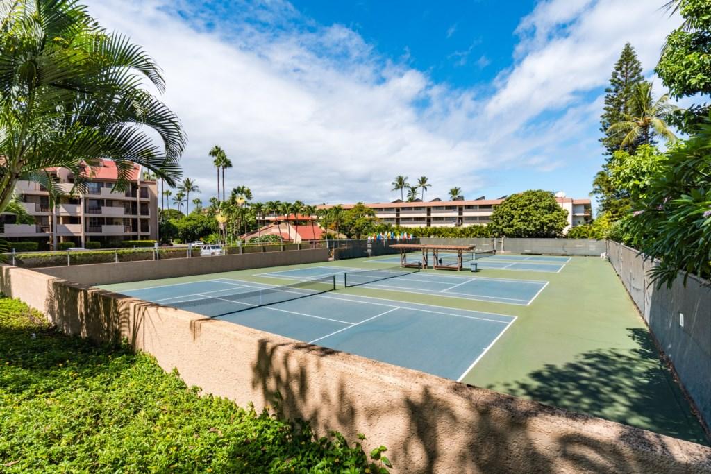 Kamaole Sands tennis