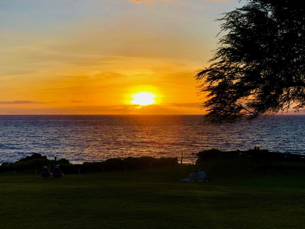 Sunset at Kamaole Sands