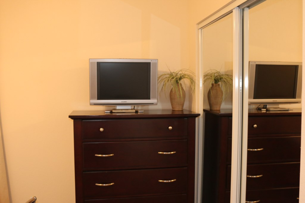 Third bedroom TV